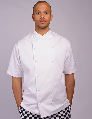 Le Chef Executive Jacket Short Sleeve