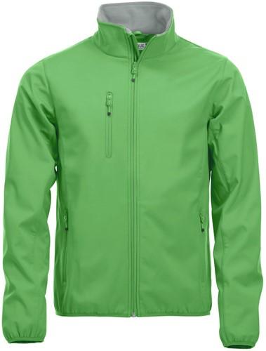 SALE! Clique 020910 Basic Softshell jacket heren - Appelgroen - Maat M