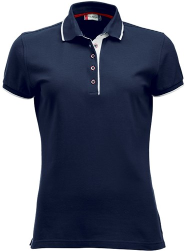 SALE! Clique Seattle dames polo-L-Dark navy