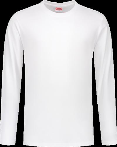 Workman 03012 T-Shirt Longsleeve - Wit