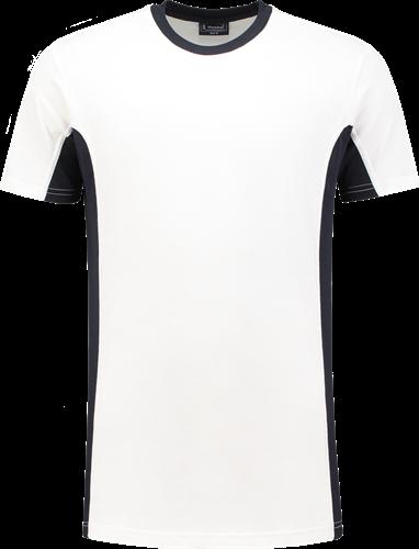 Workman 0401 T-Shirt - Wit/Navy