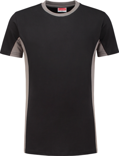 Workman 0406 T-Shirt - Black/Grey