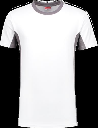 Workman 0408 T-Shirt - Wit/Grijs