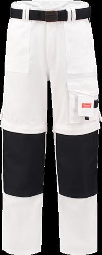 Workman 1004 Classic Worker ZIP OFF - White/Navy