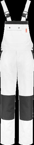Workman 1006 Luxury Amerikaanse Overall - Wit/Navy