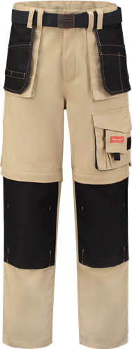 Workman 1014 Classic Worker ZIP OFF - Khaki/Black