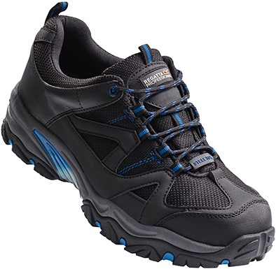 Regatta RG1090 Riverbeck S1P Safety Trainer - Black/Oxford Blue - 39