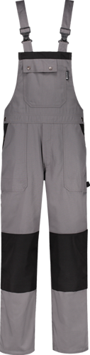 Workman 1076 Luxury Amerikaanse Overall - Grijs/Zwart