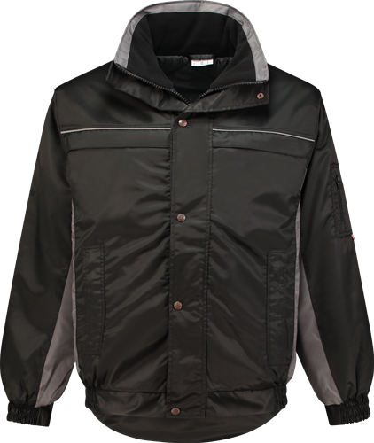 Workman 1106 Bi-Colour PU-Liner Jack - Zwart/Grijs