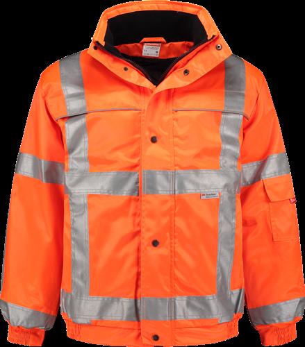 Workman 1124 High-Vis Pilotjack - Oranje