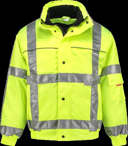 Workman 1134 High-Vis Pilotjack - Geel