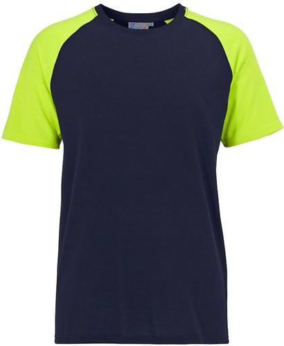SALE! Graphix 1580285623 T-shirt - Rood/Grijs - Maat S