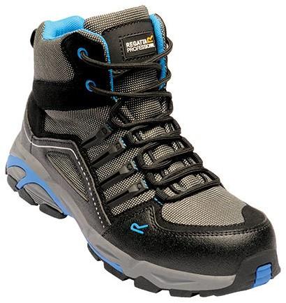 Regatta RGH1190 Convex S1P Safety Hiker - Black/Oxford Blue - 39