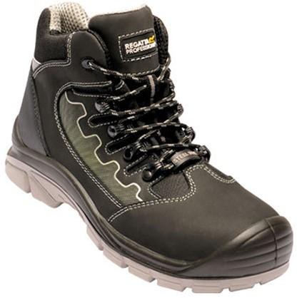Regatta RGH1160 Region S3 Safety Hiker - Black/Grey - 39