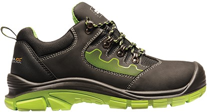 Regatta RGH1150 Region S3 Safety Trainer - Black/Green - 39