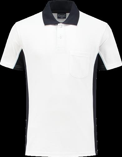 Workman 1401 Poloshirt - Wit/Navy