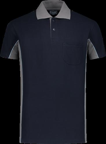 Workman 1402 Poloshirt - Navy/Grijs