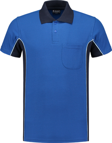 Workman 1404 Poloshirt - Royal Blue/Navy