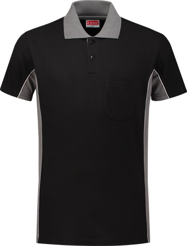 Workman 1406 Poloshirt - Black/Grijs