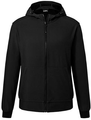 James & Nicholson  JN1146 Heren Hooded Softshell Jacket