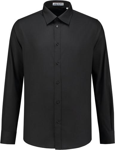 Heren overhemd Brandon LM - Zwart