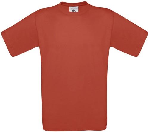 SALE! B&C Exact 150 Heren T-shirt - Rood - Maat L