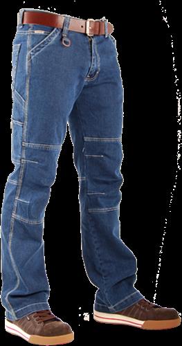 Crosshatch Toolbox Spijkerbroek Stretch-Breedte 28 - Lengte 34