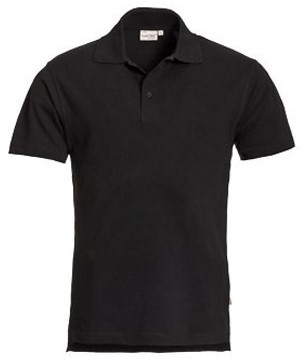 SALE! Santino Poloshirt Ricardo - Zwart - Maat L