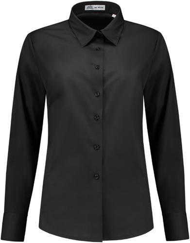 SALE! Me Wear 5024 Dames blouse Juliette LM - Zwart - Maat XL