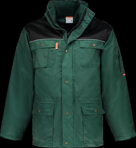 Workman 2155 Parka Beaver - Groen/Zwart
