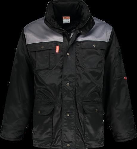 Workman 2156 Parka Beaver - Zwart/Grijs