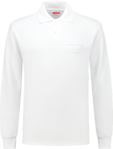 Workman 2301 Polosweater Outfitters - Wit
