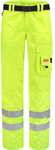 Workman 2334 High Visibility Pants - Geel
