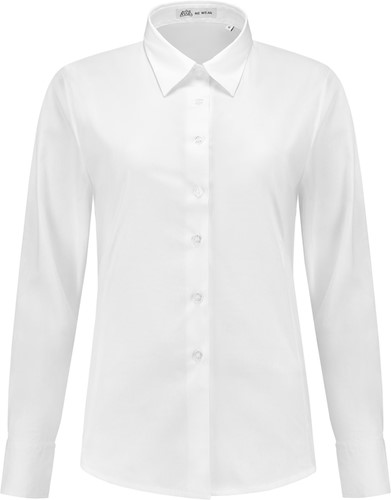 SALE! Me Wear 5024 Dames blouse Juliette LM - Wit - Maat 2XL