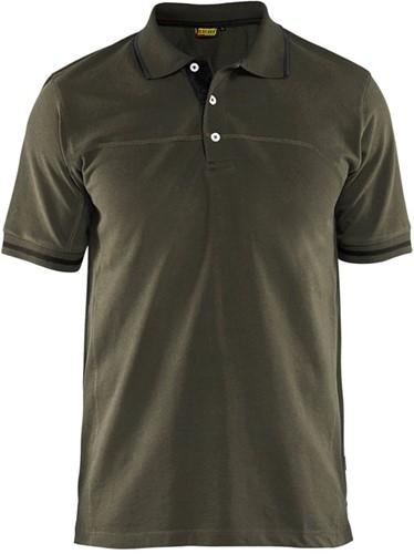SALE! Blaklader 33891050 Poloshirt - Groen - Maat L