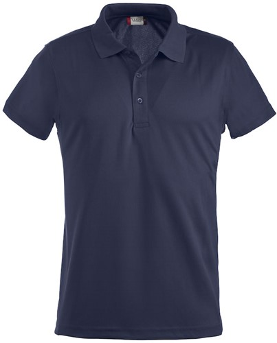 SALE! Clique 028234 Ice polo - Navy - Maat S