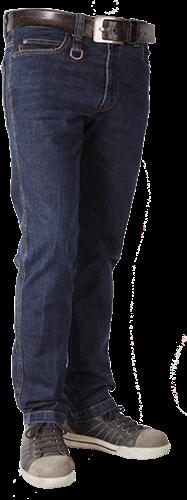 Crosshatch Trucker Spijkerbroek Dark Stretch - Breedte 28 - Lengte 30