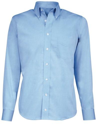 SALE! Giovanni Capraro 43-33 Overhemd Extra lange mouwen - Blauw - Maat 46