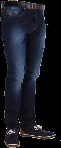 Crosshatch Vesper Spijkerbroek Dark Stretch - Breedte 28 - Lengte 30