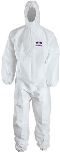 SALE! Chemdefend 250 Disposable Overall - Wit - Maat 2XL