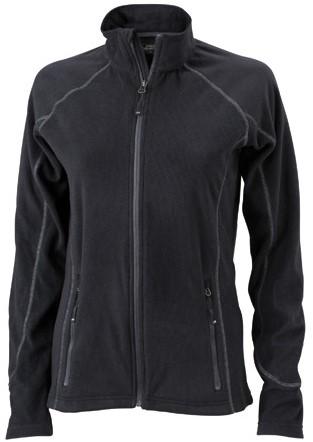 James & Nicholson  JN596 Dames Structure Fleece Jacket