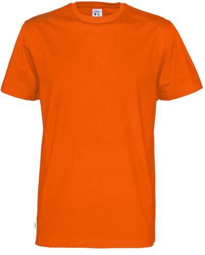 OUTLET! Cottover 141008 Heren T-shirt Korte Mouwen - Orange - Maat S