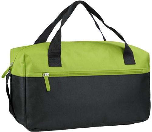 SALE! Derby of Sweden 1582115 Sky Travelbag - Lime/Zwart