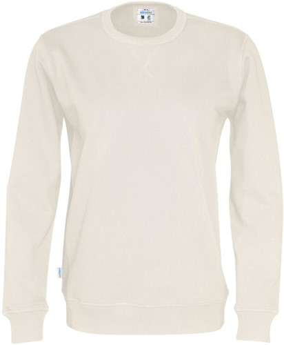 OUTLET! Cottover 141003 Unisex Sweater - Offwhite - Maat M