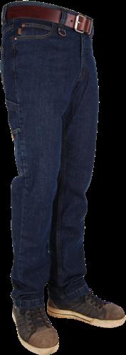 Crosshatch Carpenter Spijkerbroek-Breedte 28 - Lengte 32