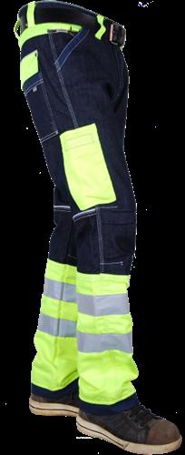 Crosshatch Toolbox F20471 Spijkerbroek Fluor Geel ISO13688