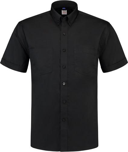 SALE! Tricorp OHK150 Werkhemd Korte Mouw - Zwart - Maat L