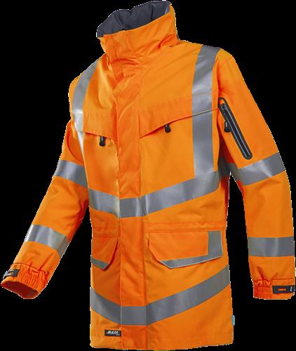 SALE! Sioen 703ZA2LH2 Mildura Signalisatie Regenparka - Fluo Oranje - Maat M