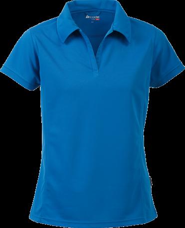 Acode Dames CoolPass poloshirt-S-Licht turquoise