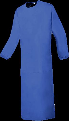 SALE! Sioen 8133A2FK0 Boulogne Schort met mouwen - Korenblauw - Maat L